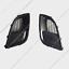 For Buick Regal GS 2009-2017 Carbon Fiber Style FogLight Cover Grille Bezel k