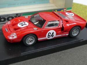 Dynamisch 1/43 Box Ford Gt 40 Mallory Park 68 Rot #64 8455 SchöNer Auftritt Auto- & Verkehrsmodelle & -teile & -zubehör