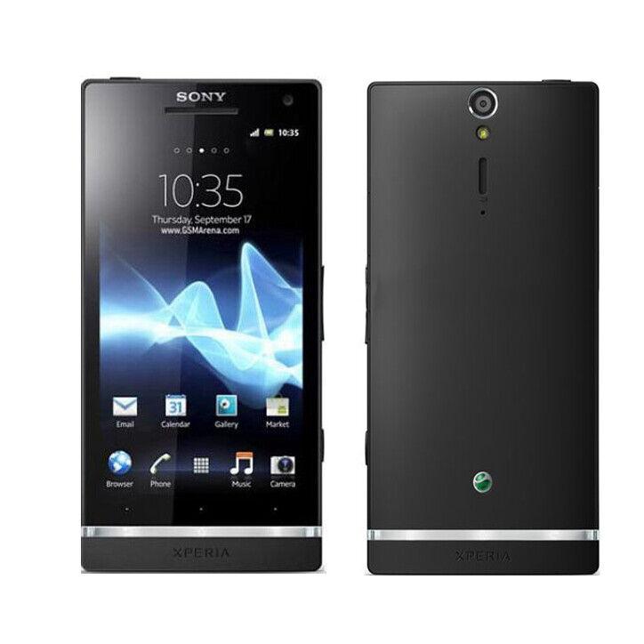 Black Sony Ericsson Xperia SL Lt26ii Unlocked Android OS Smartphone - 32gb  12mp