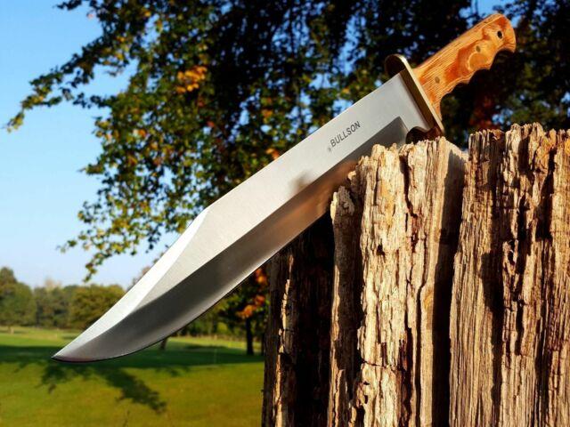 * Bullson * busch cuchillo Bowie Knife cuchillo de caza machete machette macete cuchillo