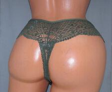 Marilyn's Green Lace Thong  SISSY POUCH PANTIES Crossdress for Men Sz 32-48 XL