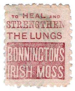 I-B-New-Zealand-Postal-Adson-Bonnington-039-s-Irish-Moss