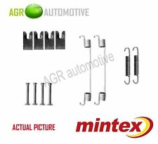 MINTEX REAR BRAKE SHOES SET FITTING KIT PIN SPRINGS GENUINE QUALITY - MBA827