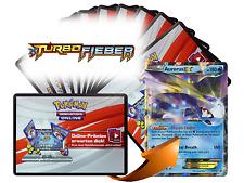 x10 TURBO Fieber Pokemon TCGO OnLine Code Karten + 1 Bonus Aurorus EX XY102 Code
