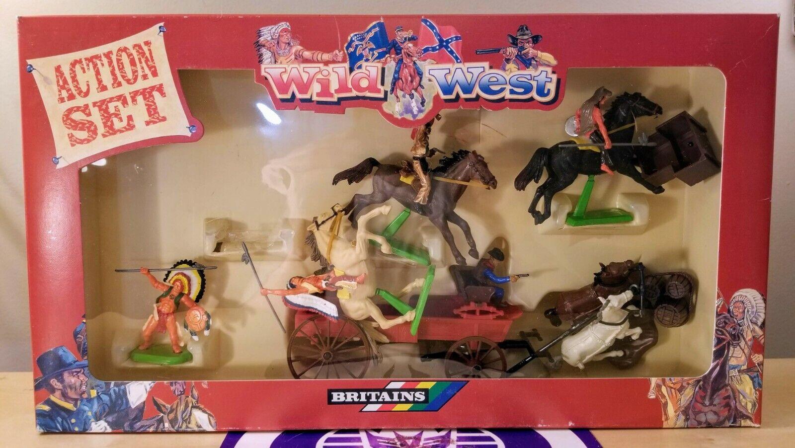 Britains Wilder Westen Aktion Set Neu Neu Neu Ovp  1 Hervorragend Form Vintage 2997f6