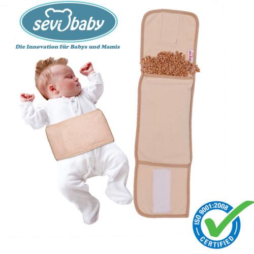 Sevibaby Baby Gurt mit Kirschkernen Wärmekissen Kirschkernkissen Kirschkern 685