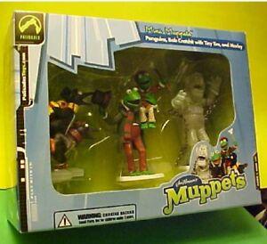 Henson's Muppets Christmas Carol set 3 Penguins, Bob Cratchit &Tiny Tim & Marley | eBay
