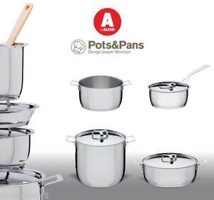Batteria di Pentole POTS&PANS Alessi 7pz | eBay
