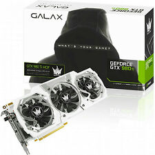 GALAX GeForce GTX 980 Ti Hall of Fame Edition Video Card PCI-E 6GB GDDR5 - White