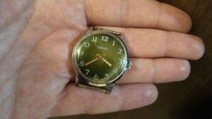 Vintage-USSR-Russian-Raketa-Mechanical-Men-039-s-Watch-16-Jewels