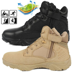 Men-039-s-Outdoor-Hiking-Combat-Military-Boots-Shoes-for-Camping-Tactical-Desert-AU