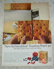 1964 AD PAGE - Toast'em Pop-ups toaster fruit Pastry General Foods PRINT ADVERT