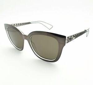d2c3b42124f Christian Dior Diorama 1 TGTEJ Grey Crystal Brown TGT EJ Sunglasses ...