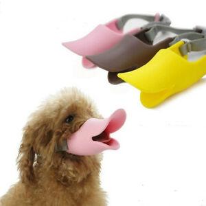 dog training duck mask no bark no bite easy fit adjustable