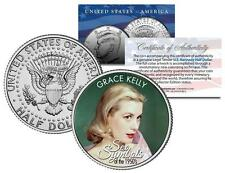 GRACE KELLY * 1950s Sex Symbol * Colorized JFK Kennedy Half Dollar U.S. Coin