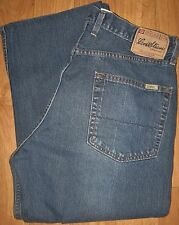 Men's LEVI'S Signature 36x25.5 Shortened Jeans LOOSE/STRAIGHT style ~Great Cond!