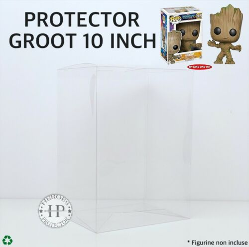 POP PROTECTOR GROOT 10 INCH PROTECTION FUNKO POP 10 POUCES Vinyl Box Case