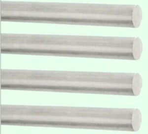 "2-1//2/"" Aluminum Round Bar Rod 12/"" long 6061-T6 Mill Finish"