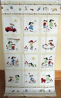 1 Adorable vintage Play Cotton Fabric Quilting/wallhanging Panel