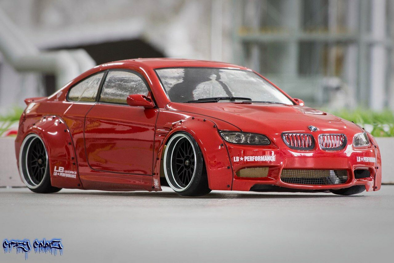 10 pices Body HTBW-006-e92 Bmw E92 M3 drift 1/10 scale