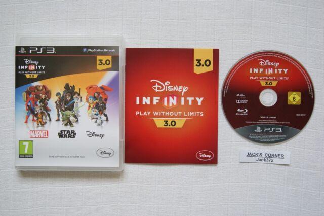 DISNEY Infinity 3.0 PS3 GIOCO SOLO SOFTWARE - 1st Class spedizione gratuita nel Regno Unito