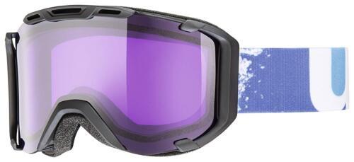 uvex snowstrike Stimu Lens Skibrille black mat//psycho S2 Gr M40 UVP €89,95