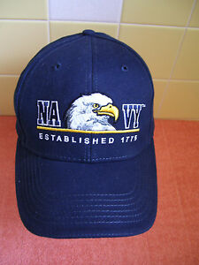 dcf4c25d62c Image is loading New-034-NAVY-034-Embroidered-Eagle-Head-Baseball-