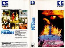 "VHS - "" Das Blaue PARADIES ( Paradise ) "" (1982) - Phoebe Cates - Willie Aames"