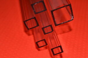 CLEAR-ACRYLIC-PERSPEX-PLASTIC-SQUARE-TUBE-BAR-HOLLOW-imperial-3-8-034-1-2-034-3-4-034