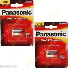 2 x Panasonic 3v  golf Bushnell V2 rangefinder Battery