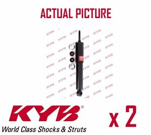 2-X-Eje-Delantero-Amortiguadores-Par-puntales-Shockers-KYB-OE-Calidad-344453