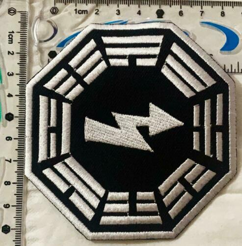 LOST Dharma Initiative Embroidered SEW//IRON ON PATCH patch