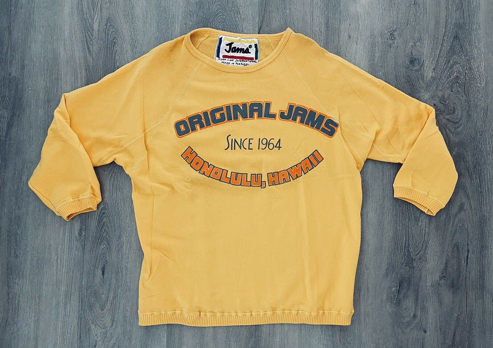 •Vintage Original Jams Surf Line International Jumper Sweatshirt•Unisex•Hawaii•
