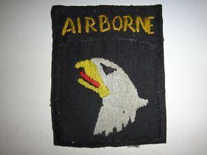 Vietnam-Guerra-US-101st-Airborne-Divisione-Mano-Cucita-Tasca-Toppa