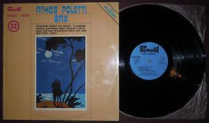 LP ATHOS POLETTI Sax (Fonotil 70)Italian folk funk library De Piscopo Farina VG+