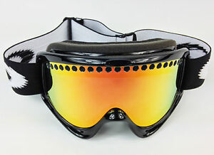 oakley o frame ski goggles  REPLACEMENT GS FIRE MIRROR DUAL VENTED SNOW SKI LENS fits OAKLEY O ...