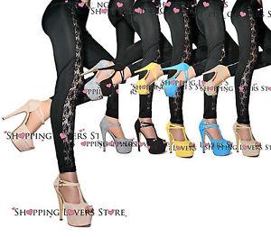 5 femmes ᄄᄂ Chaussures pour double bride dᄄᆭcolletᄄᆭ Cod Sandales daim en Talon 533 14 wOk8n0P