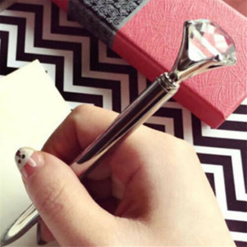 Cute Diamond Head Crystal Ball Pen Concert Pen Creative Pen Stationery Gift U87