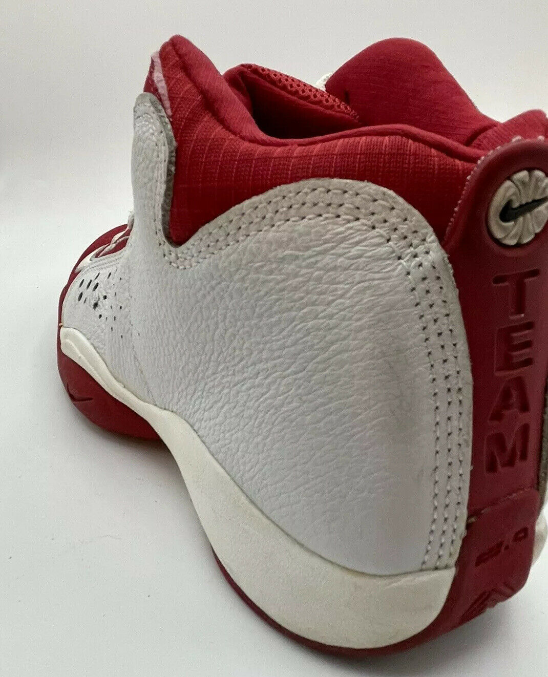 NIKE Air Team 2.0 Basketball Red White 90s Shoes … - image 9