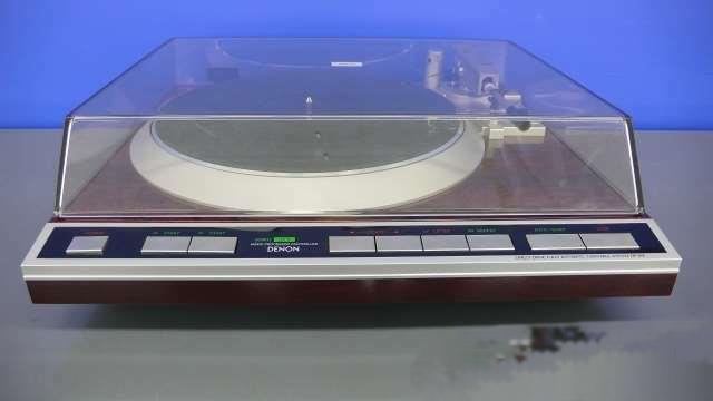 Denon Dp-45f Vintage Tocadiscos Audio Reproductor Probado Usado