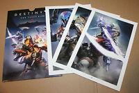 Destiny The Taken King Promo Press Exclusive Artwork Artworks PS3 PS4 Xbox One
