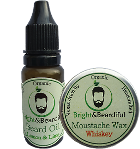 Conditioning-Beard-Oil-15ml-amp-Strong-Hold-Moustache-Wax-15ml-Styling-Growth