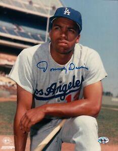 Tommy-Davis-Signed-8X10-Photo-Autograph-Los-Angeles-Dodgers-Pose-Knee-Auto-COA