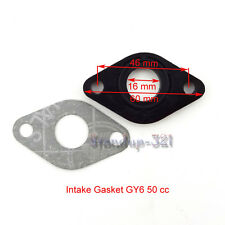 Engine Intake Manifold Inlet Pipe Gasket For Chinese 50cc GY6 Gas Moped Scooter