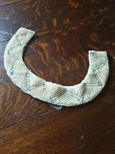 Vintage-Baar-And-Beards-Collar-Pearl-Necklace-1950-039-s-Japan-Top-Hit-Fashions