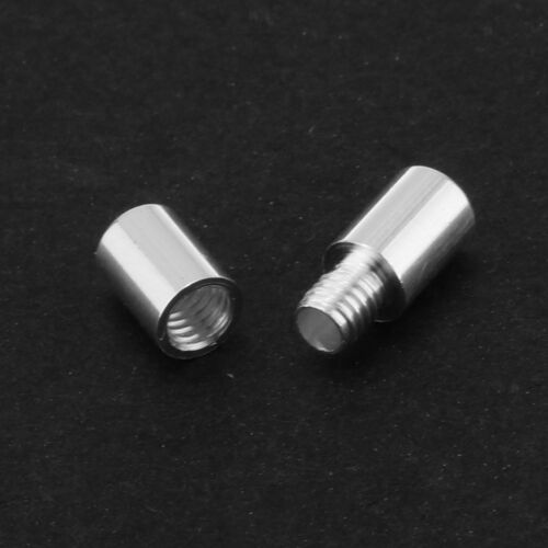 925 Sterling Silver Screw Barrel Jewelry Necklace Clasp Jewelry Connector S2