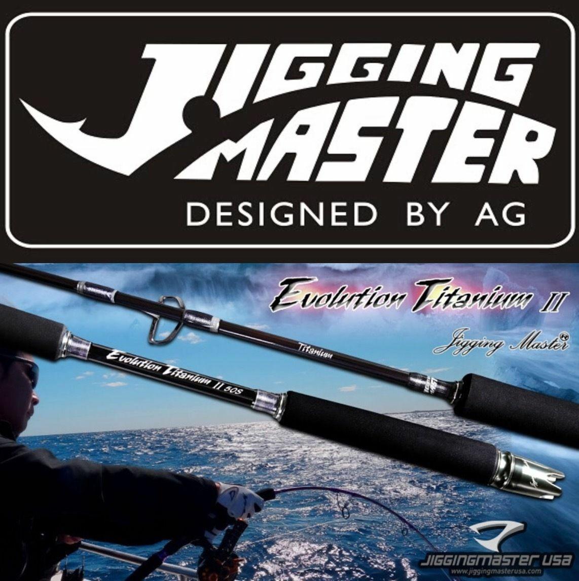 Jigging Master Evolution Titanium II Ultimate Jigging rods