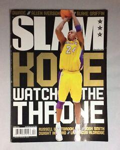 Kobe Bryant Black Mamba Nike Ad Slam Basketball Magazine Watch The Throne Ebay