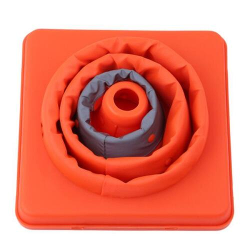 Folding Collapsible Traffic Multi Purpose Pops-up Reflective Safety Cone NEW S