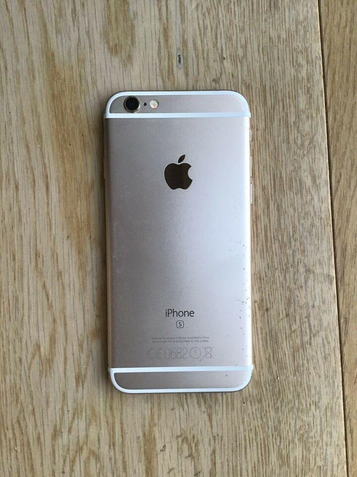 iPhone 6S, 32 GB, gul